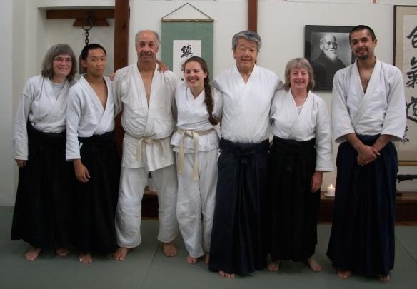 Hiroshi Ikeda at Aikido of Berkeley, 2014