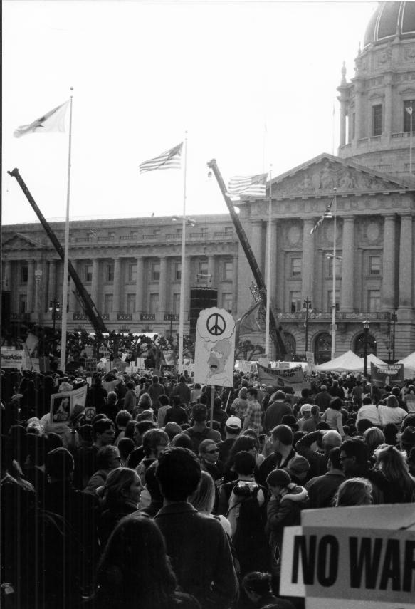 Iraq War Protest SF