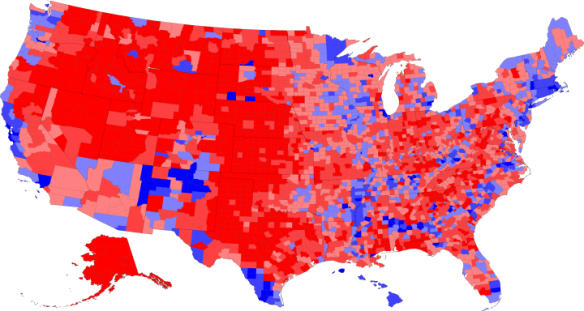 Trump Absolutely Won Hillary Absolutely Lost Manuelgarciajr - Us map of trump county wins